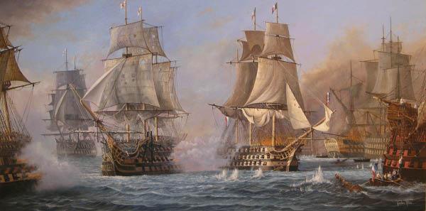 3. The First Battle of Kronos Edge Battle-of-Trafalgar-48x24